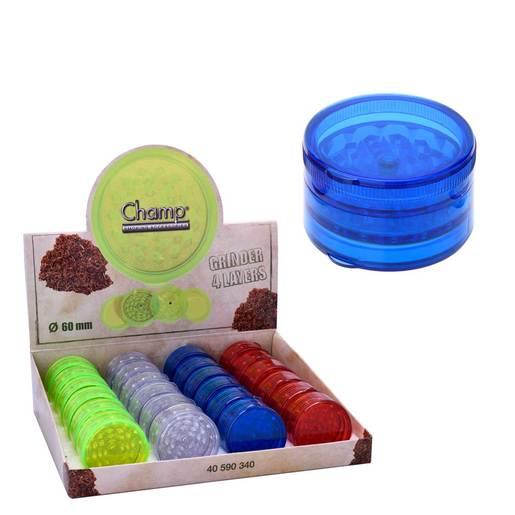 GRINDER CHAMP PLASTIC 60MM