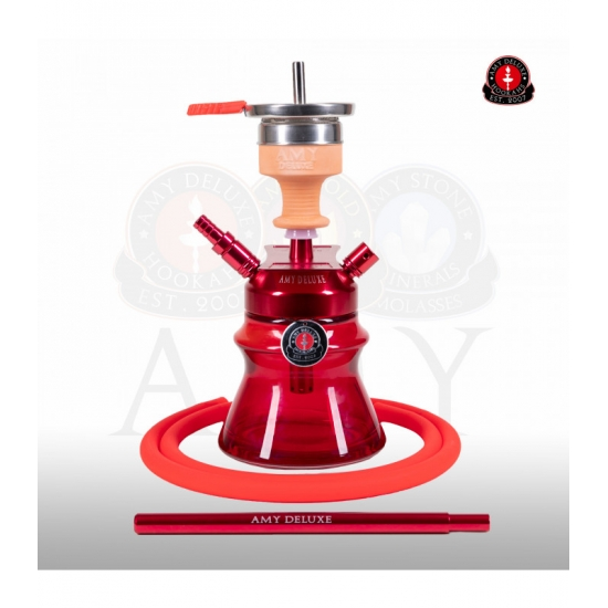 cachimba amy 094.03 alu sphere bag red